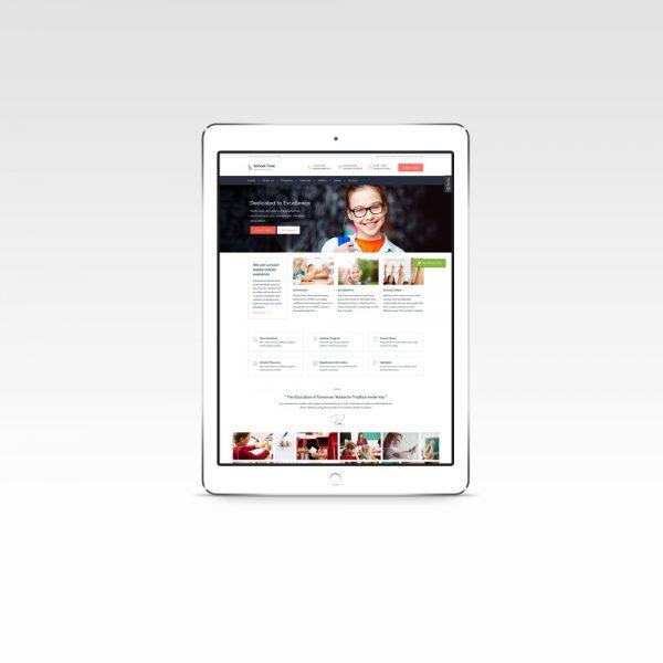 Eğitim Kurumu Web Sitesi Paketi